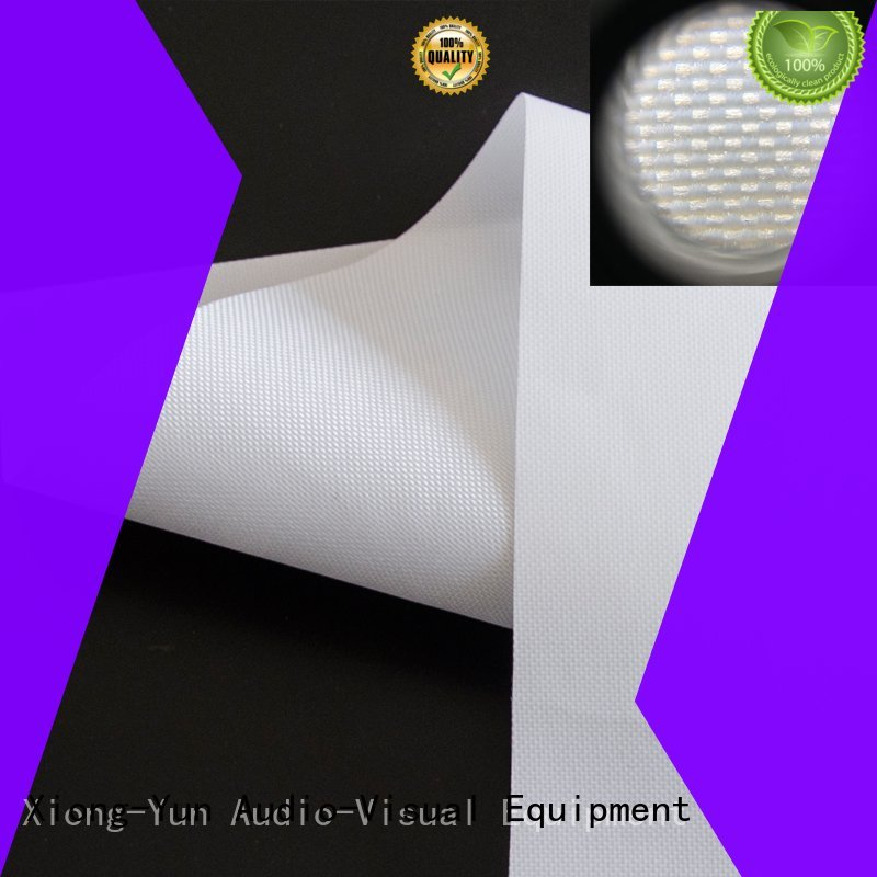 Wholesale acoustically projector screen fabric XY Screens Brand