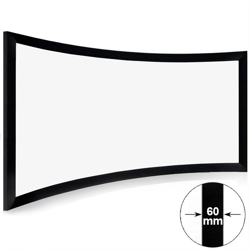 Mini Cinema Curved Projector Screen CHK60B Series