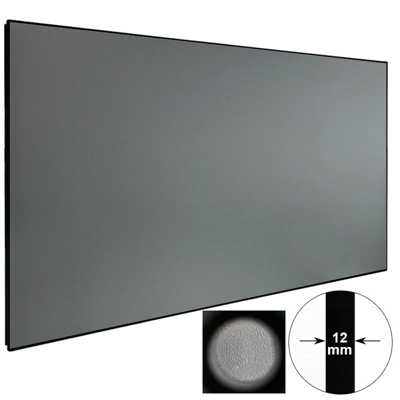 Ambient Light Rejecting Projector Screen ZHK100B-Black Crystal