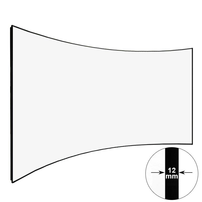 Curved Thin Bezel HD Home Theater Projector Screen CZHK100B Series