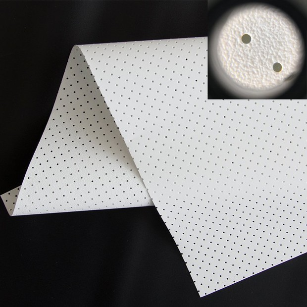 Perforating Acoustically Transparent Fabric FS1