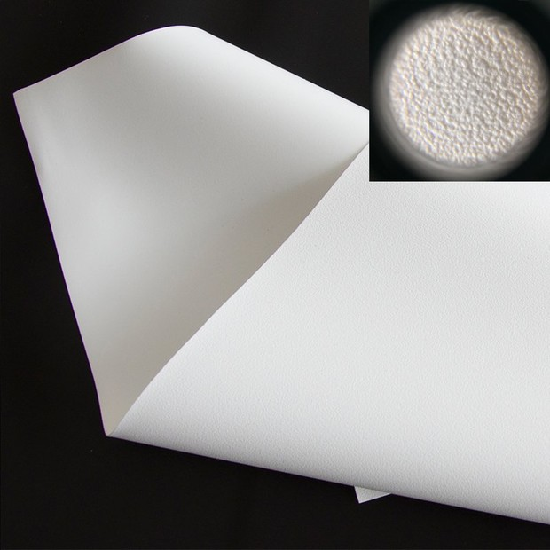 Front 4K Flexible White PVC Fabric WF1 Pro