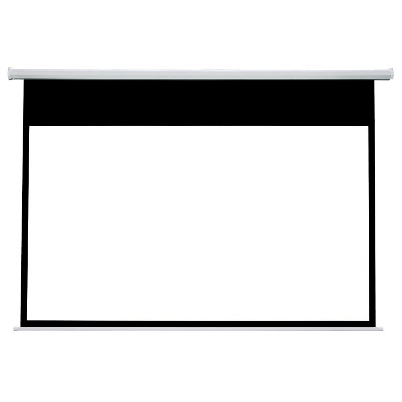 Electric Drop Down Movie Screen Cheap HD Projector Screen RSC64