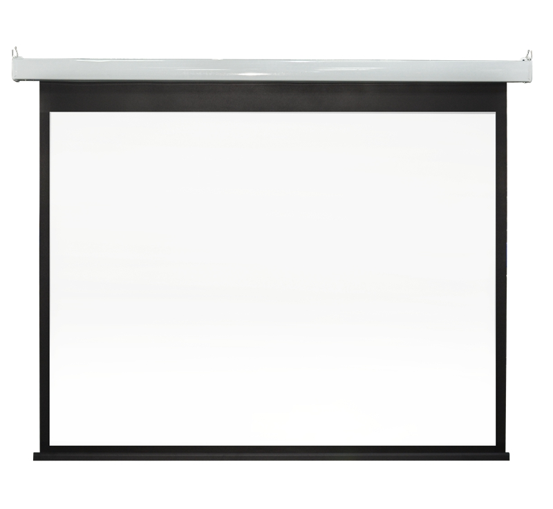 SC83 Steel paint intelligent Motorized Projection Screen