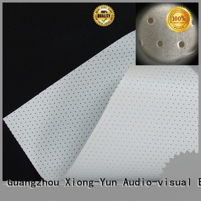 Wholesale mfs1 sound Acoustically Transparent Fabrics XY Screens Brand