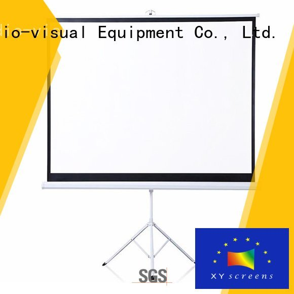 Quality portable projector for sale XY Screens Brand screen tripod projector screen