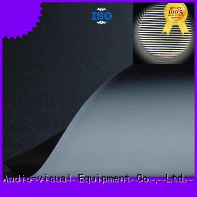 matte white fabric for projection screen normal gain Ambient Light Rejecting Fabrics manufacture
