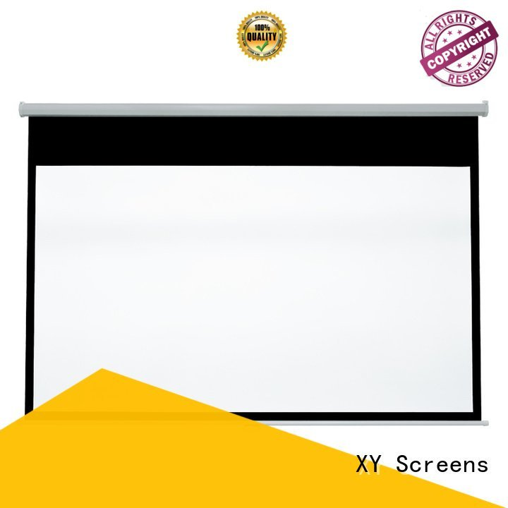 XY Screens pull rsm64 down pull down rear projection screen screen