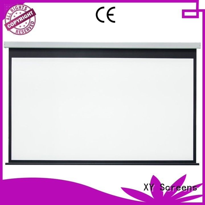 movie down inch Motorized Projection Screen XY Screens Brand