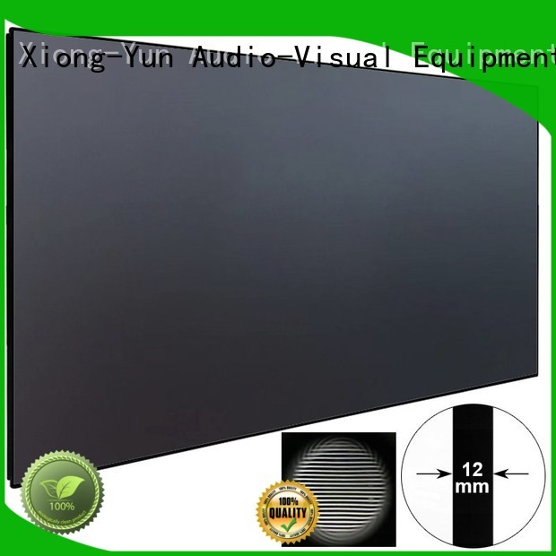 Quality XY Screens Brand grid ultra short throw projector screen