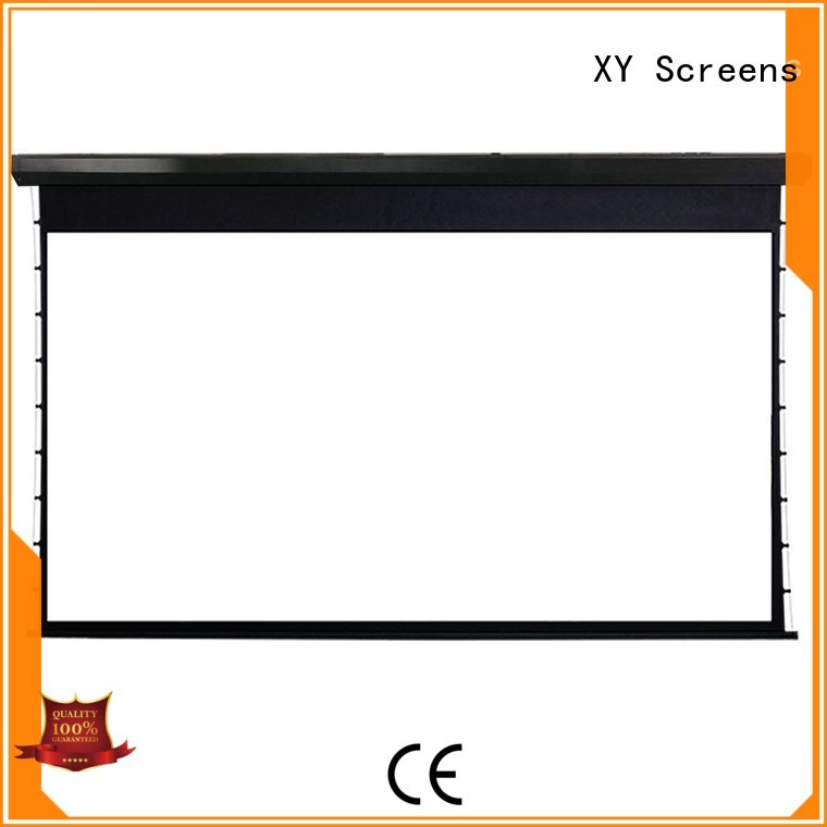 XY Screens Brand lc2 series motorized movie projector price intelligent
