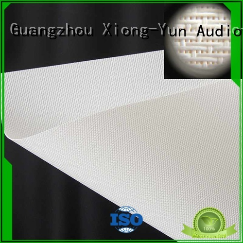 Wholesale woven acoustic fabric XY Screens Brand