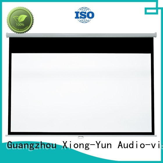 pull down rear projection screen XY Screens