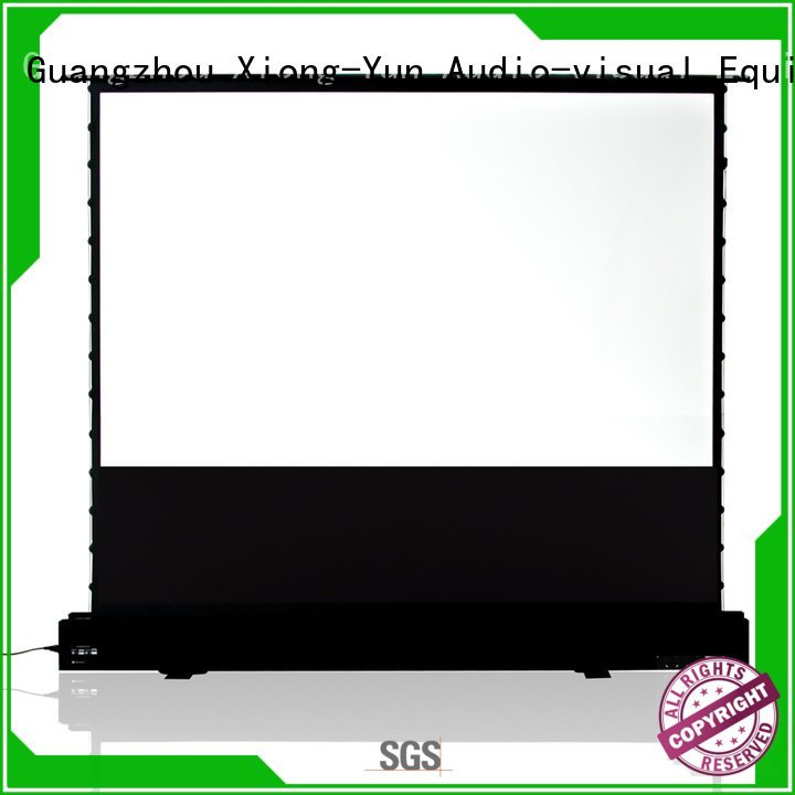 pull up projector screen 16 9 edlpu projection OEM pull up projector screen XY Screens