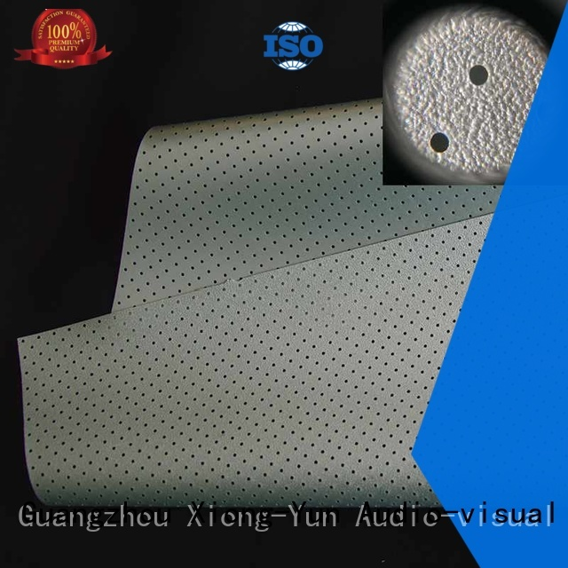 acoustic fabric fs1 Acoustically Transparent Fabrics XY Screens Brand