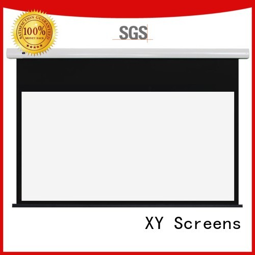 XY Screens Brand theater home free standing projector screen 80170 supplier