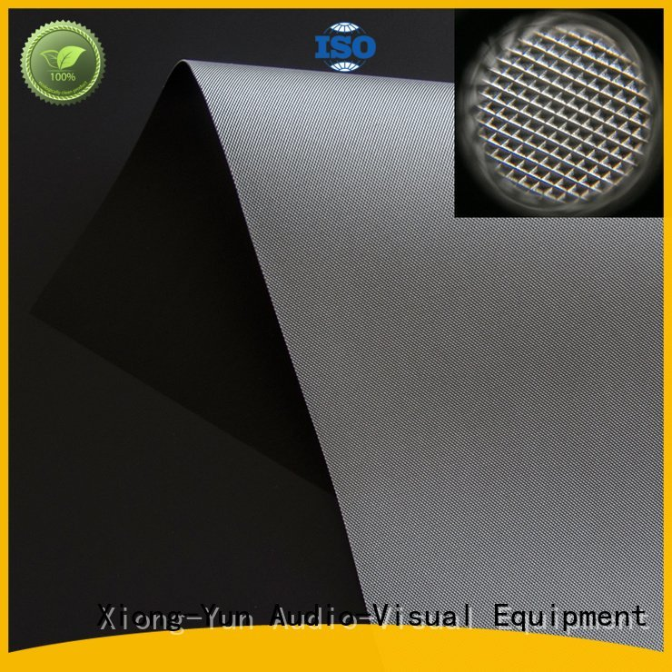 OEM Ambient Light Rejecting Fabrics ust light matte white fabric for projection screen