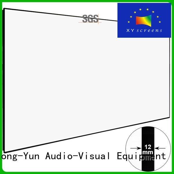 XY Screens Brand series zhk100b home hd projector screen