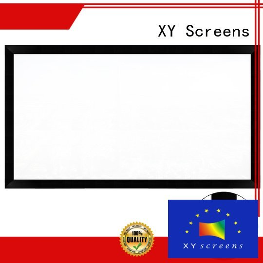 XY Screens theater hd fixed cheap movie projector series