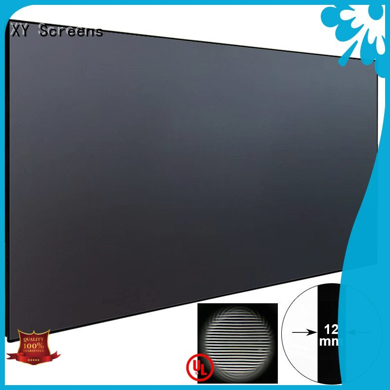 ultra hd projector grid television ultra short throw projector screen XY Screens Brand