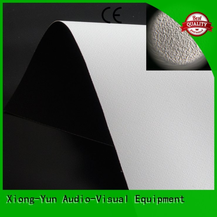 HD home theater projection screens with soft PVC fabric front and rear fabric XY Screens