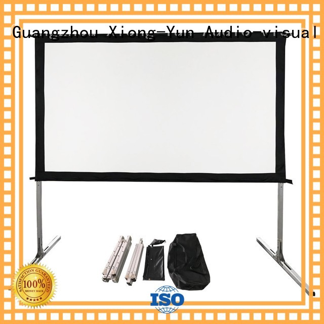 outdoor pull down projector screen carry bag screen Warranty XY Screens