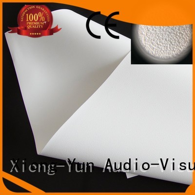 pet 3d front and rear fabric screen XY Screens