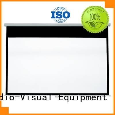 XY Screens pull down projector screen