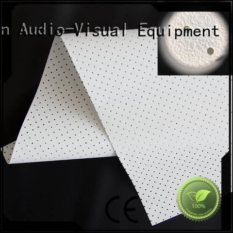 XY Screens Acoustically Transparent Fabrics