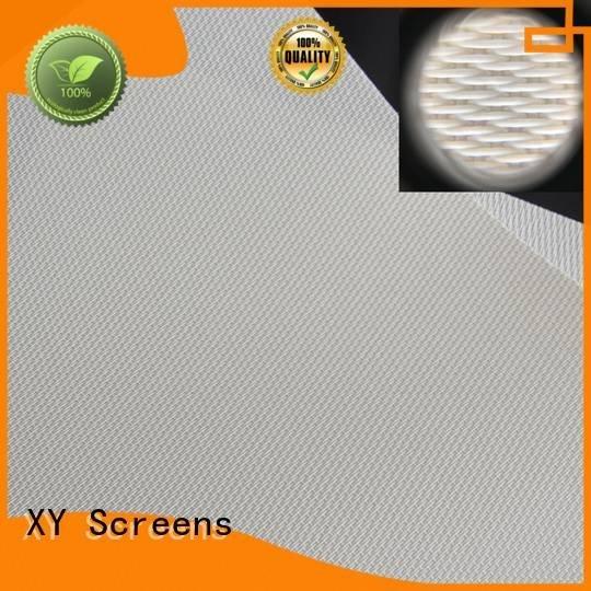 XY Screens Brand Acoustically Transparent Fabrics