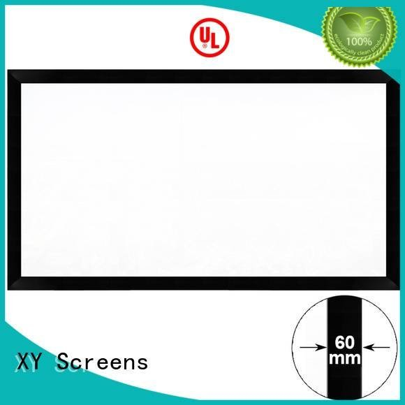 home cinema screen and projector