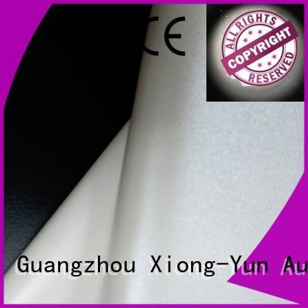 XY Screens Brand front and rear fabric