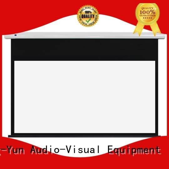 Standard motorized series XY Screens
