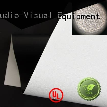 XY Screens HD home theater projection screens with soft PVC fabric