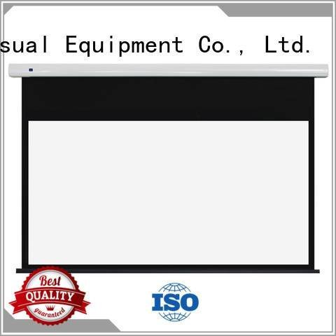 Custom Standard motorized series free standing projector screen