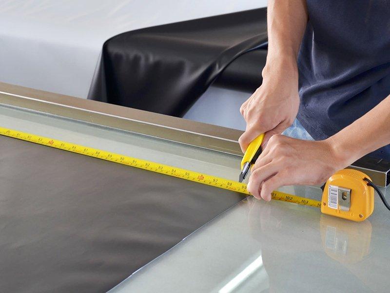 Screen Fabric Cutting-2