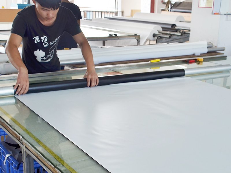 Screen Fabric Cutting-4