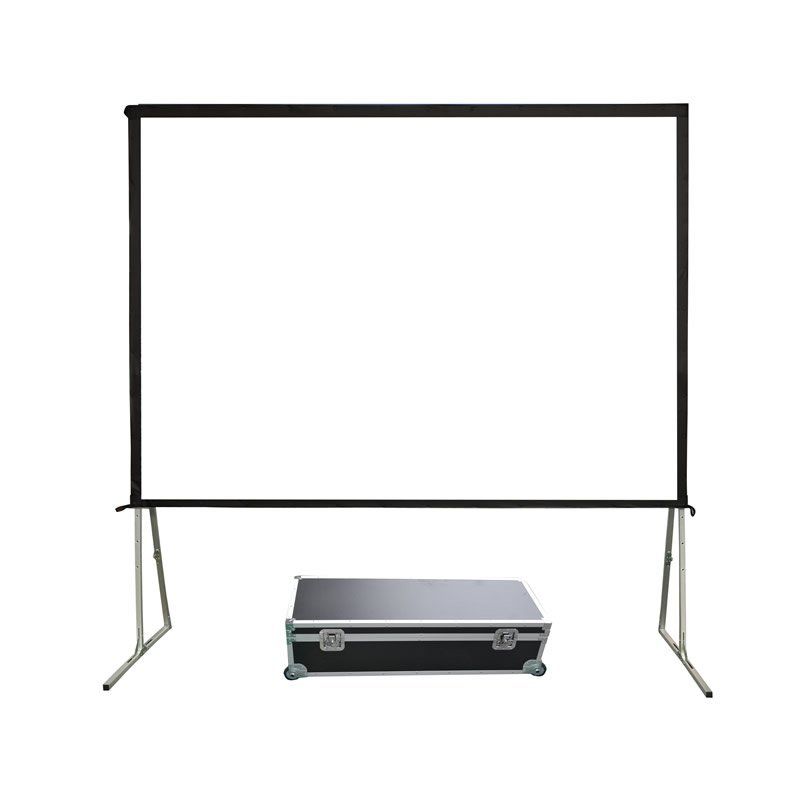 80-400 Inch Portable Fast Folding Projection Screen for Outdoor FF1 Series