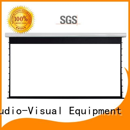 Custom series large portable projector screen screen movie projector price