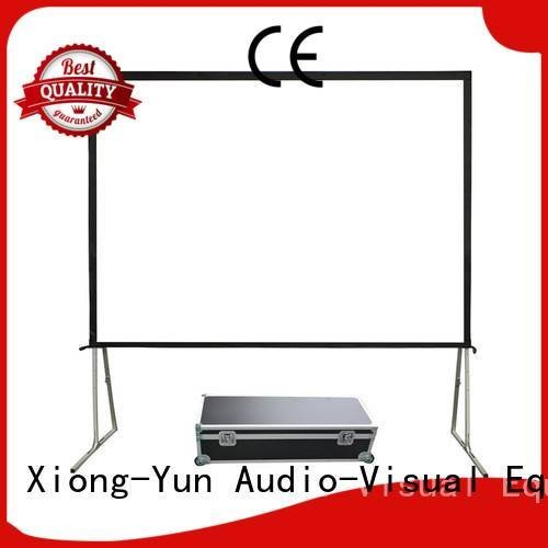 Hot outdoor pull down projector screen outdoor projector screen XY Screens